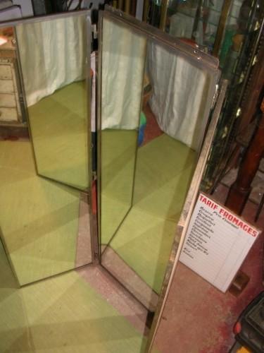 Grand miroir triptyque d coration de magasin guy for Grand miroir triptyque