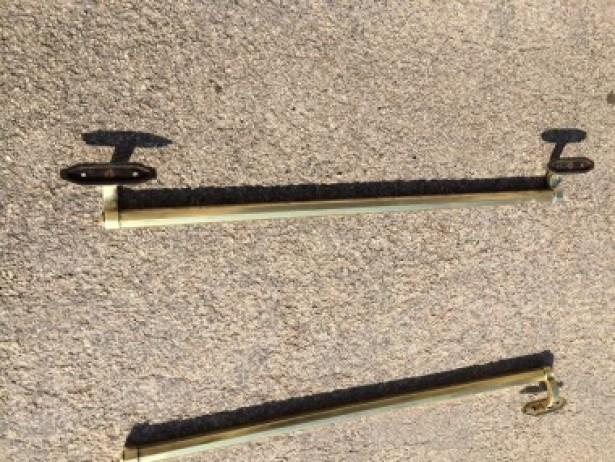 Trois anciennes poign es de porte de magasin les derni res trouvailles gu - Poignees de porte anciennes ...