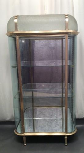 grande ancienne vitrine d 39 h tel vitrines anciennes guy laurent setruk antiquit s. Black Bedroom Furniture Sets. Home Design Ideas