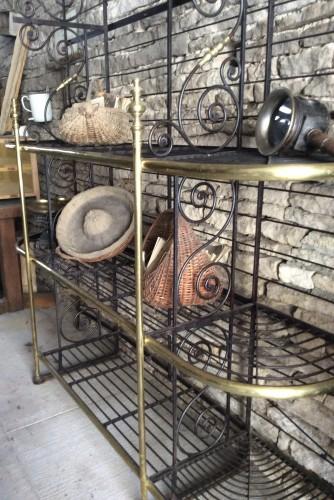 Ancienne grille de boulangerie.