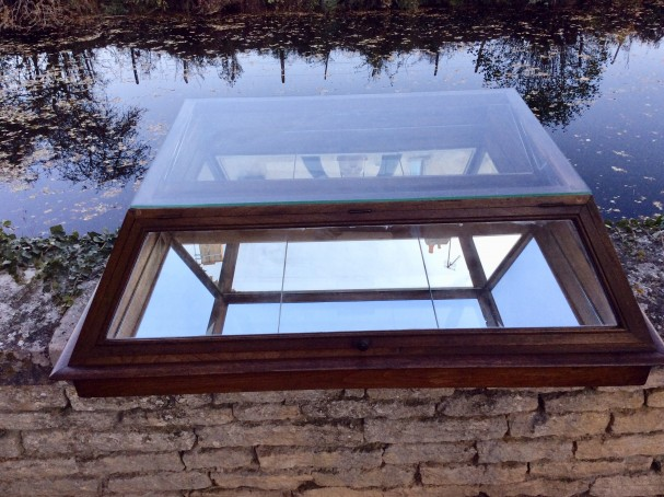 Ancienne vitrine.