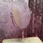 Ancien miroir de chapelier