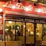 Restaurant La poule au pot Paris